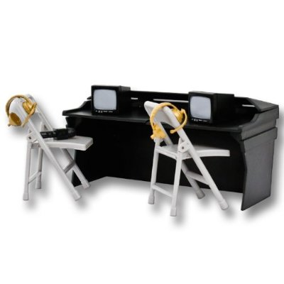 WWE Black Breakaway Commentator Table Playset for Wrestling Action Figures at Sears.com