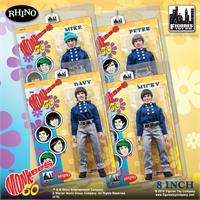 The Monkees Retro Action Figures