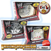 WWE Mattel Toy Championship Belts