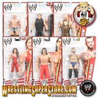 WWE Mattel Basics Series Figures