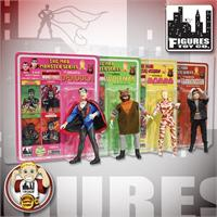 Mad Monsters 8 Inch Action Figures