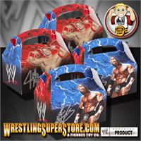 WWE Party Favor Boxes Full with Items